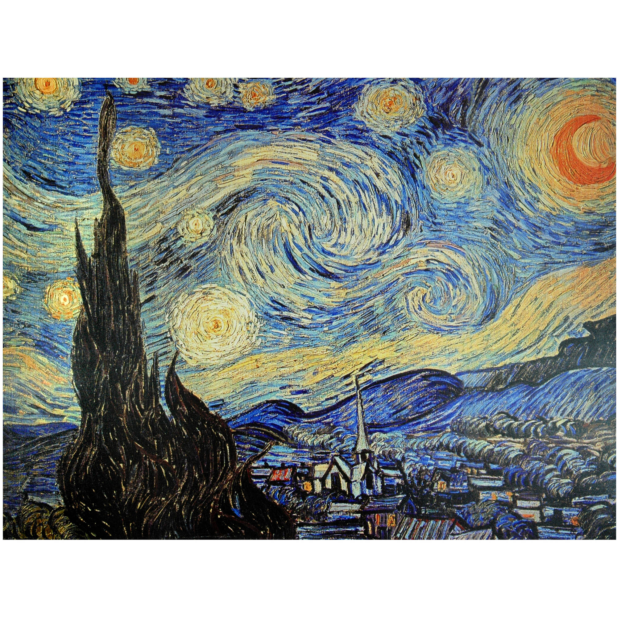 Starry Night Canvas Wall Art