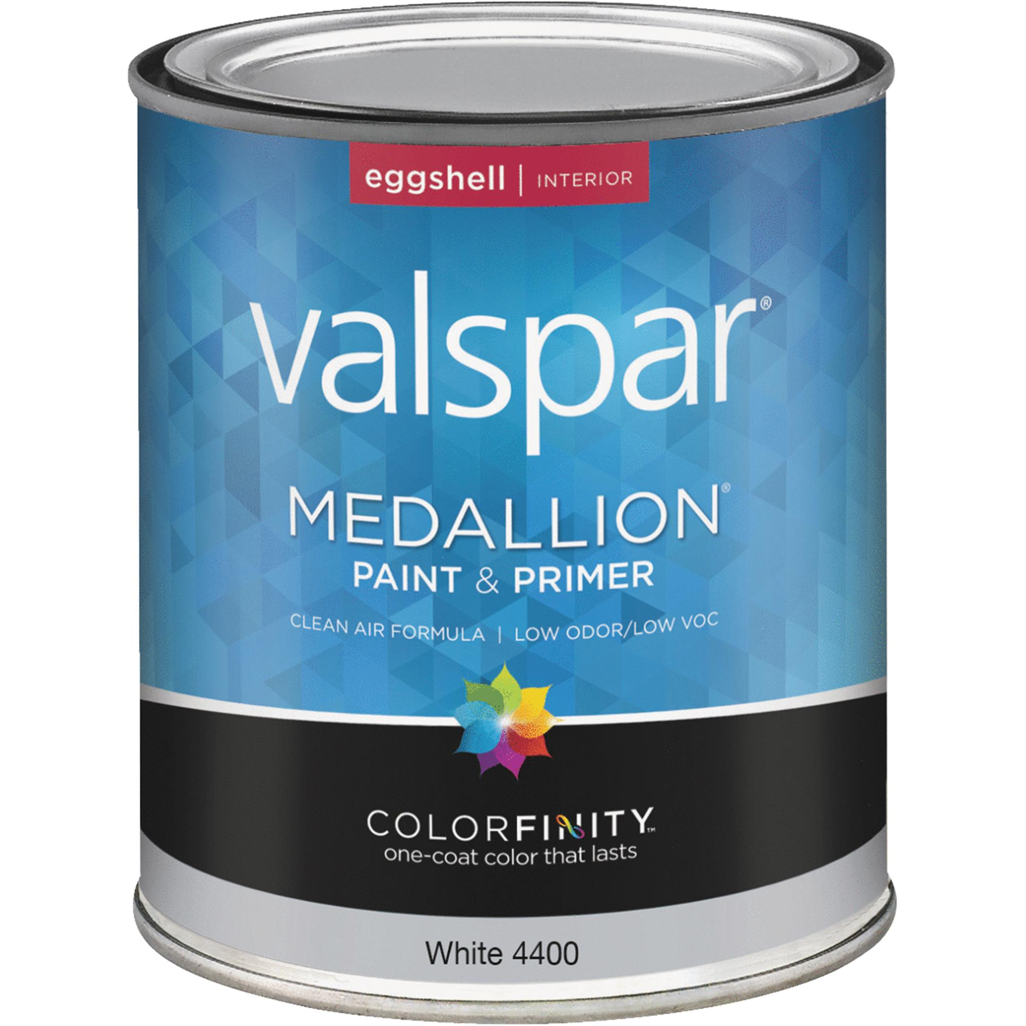Valspar Medallion 100% Acrylic Paint & Primer Eggshell Interior Wall Paint