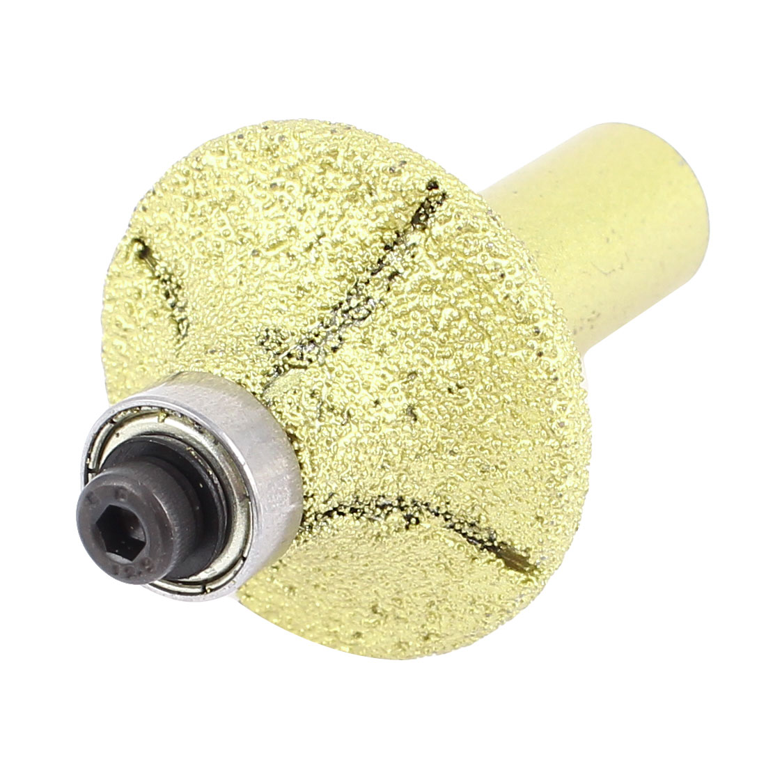 Unique Bargains Gold Tone 35mm Dia Diamond Coated Profile Wheel Router Bit for Granite... by Unique-Bargains