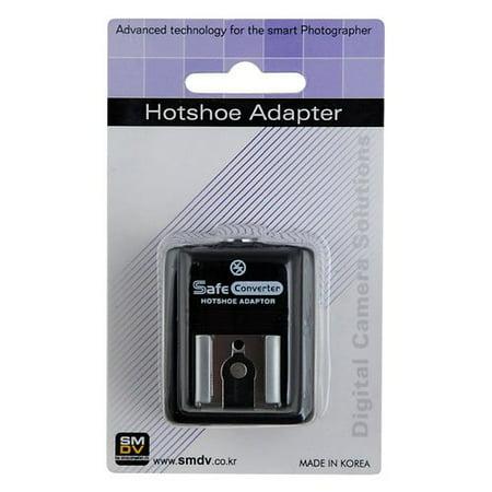 SMDV Hot Shoe Hotshoe Safe Sync Adapter SM-512 for Pentax K-5, K-r, K-7, K-m, x70, X90, K200d, K20d, K100D Super, K10D, K110D,K100D, *ist DL2, *ist DS2, *ist DL, *ist DS, K2000, K-X