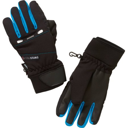 Swiss Tech Boys Hybrid Gloves With Reflective