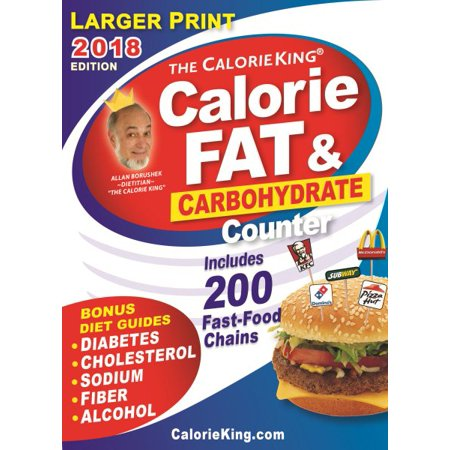 The Calorieking Calorie Fat Amp Carbohydrate Counter 2018