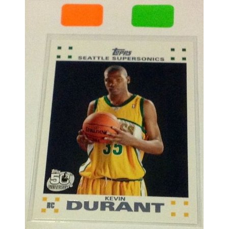 2007 #2 Kevin Durant ROOKIE CARD MINT in Ultra Pro One Touch Magnetic Holder Oklahoma City- MVP??, By Topps Ship from US
