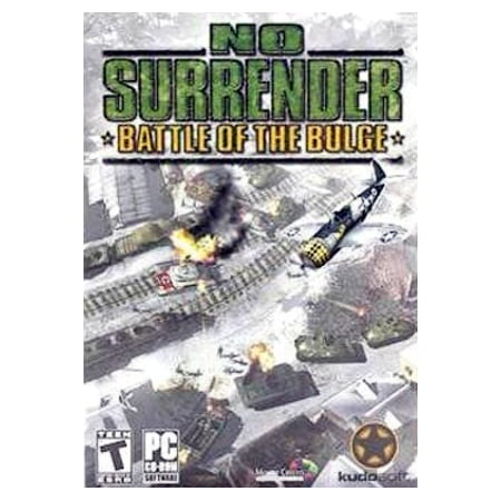 NO SURRENDER Battle of the Bulge PC CD Strategy Game ~ Command Both Axis & Allied (Magi Nation Battle For The Moonlands Game)