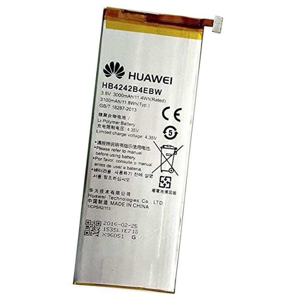 Original Huawei HB4242B4EBW 3000mah Battery for Huawei Honor 6 (Non-Retail Package)