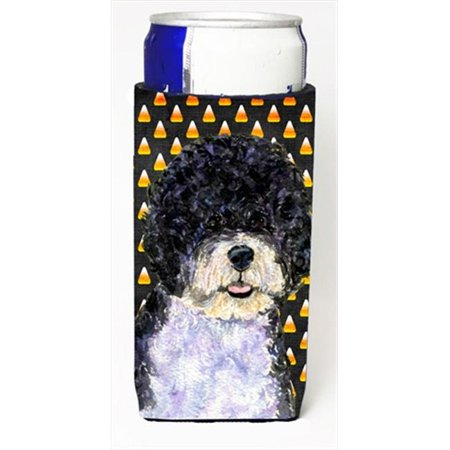 Portuguese Water Dog Candy Corn Halloween Portrait Michelob Ultra bottle sleeves For Slim Cans - 12 Oz.](Halloween Virginia Water)