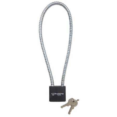 Bulldog Cases Three Pack Keyed Cable Trigger Lock w/Matching Keys