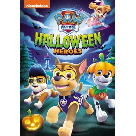 PAW Patrol: Halloween Heroes (DVD) - Good Halloween Movies On Demand