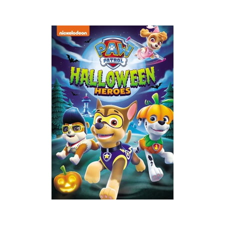 PAW Patrol: Halloween Heroes (DVD) - Halloween Films For Family