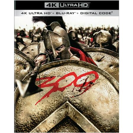 300 (4K Ultra HD + Blu-ray + Digital Copy)