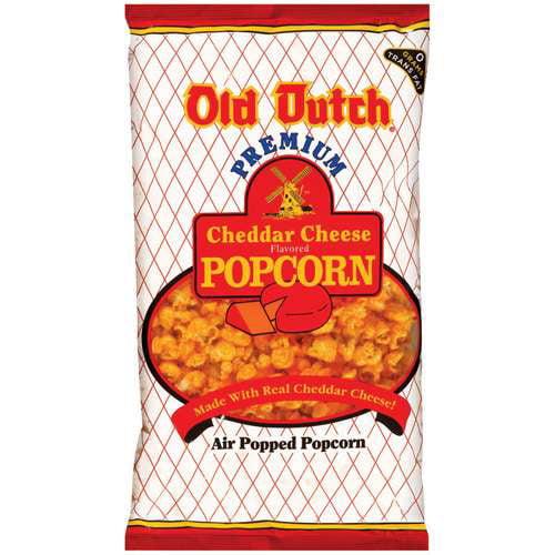 Old Dutch Cheddar Cheese Popcorn, 6 oz