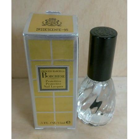 BORGHESE Protective Nail Lacquer IRIDESCENTE #95 0.5 fl oz/15 ml Box Not Perfect