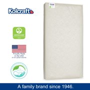 Kolcraft Love & Comfort Lightweight Foam Crib Mattress & Toddler Mattress