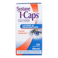 I-Caps Lutein and Zeaxanthin Eye Vitamin Coated Tablets, 120 ct