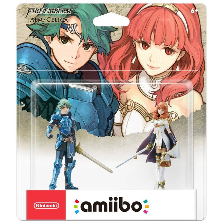 Alm & Celica 2-Pk, Fire Emblem Series, Nintendo amiibo, NVLEAQ2A by Nintendo