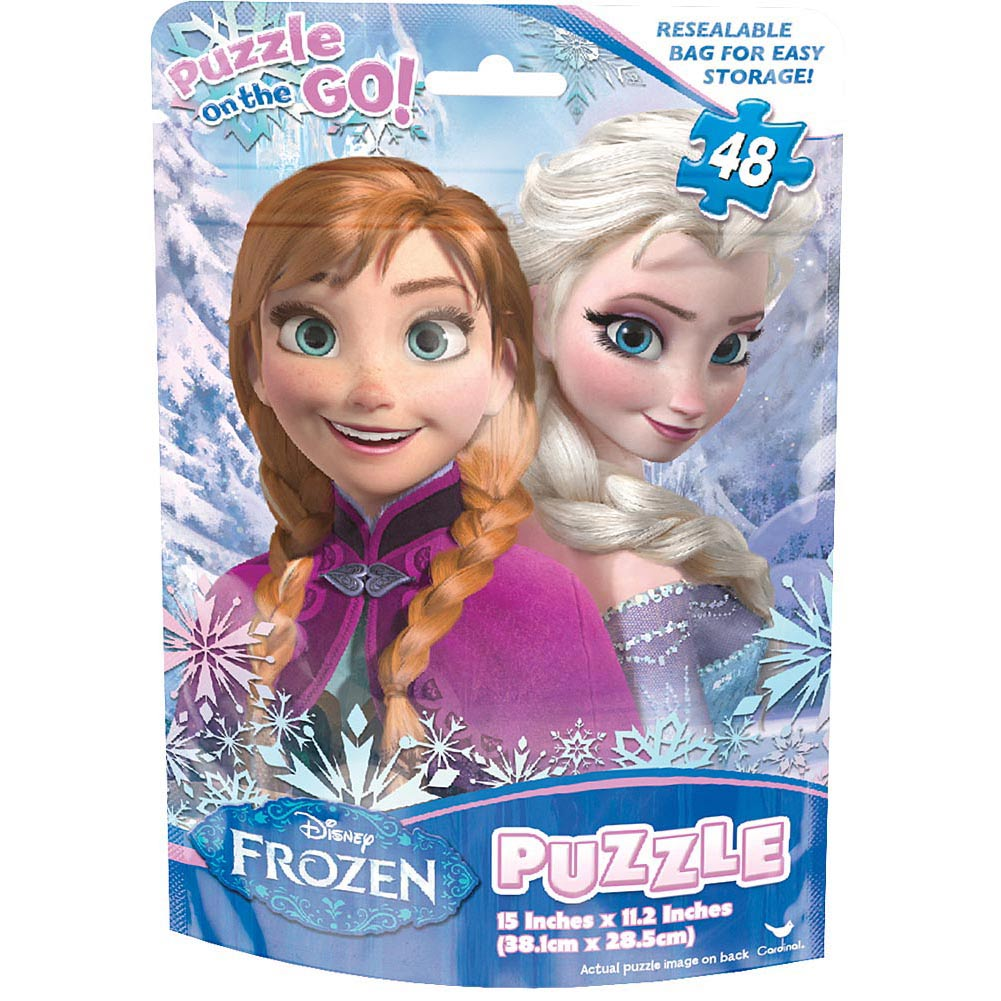 Frozen Foil Bag 48 Piece Puzzle
