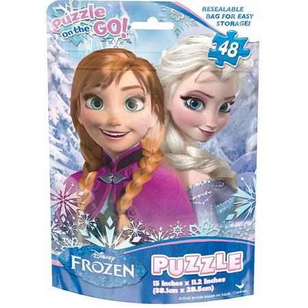 Frozen Foil Bag 48 Piece Puzzle,  Disney Frozen by Cardinal