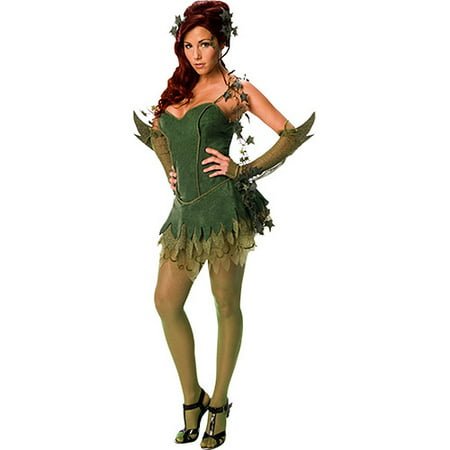 Poison Ivy Adult Halloween Costume (Poison Ivy Costumes For Women)