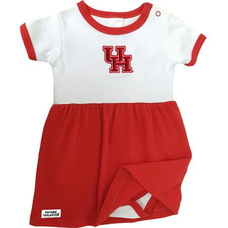 Houston Cougar Baby Onesie Dress