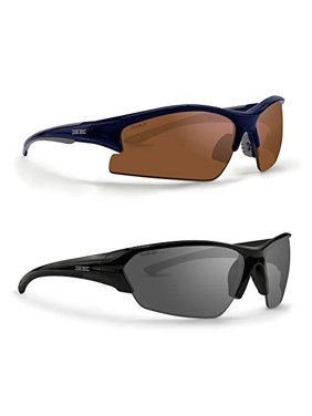 1a7912243f Product Image 2 Pair Golf Sport Sunglasses 1 Epoch 1 Blue Gray w Amber Lens