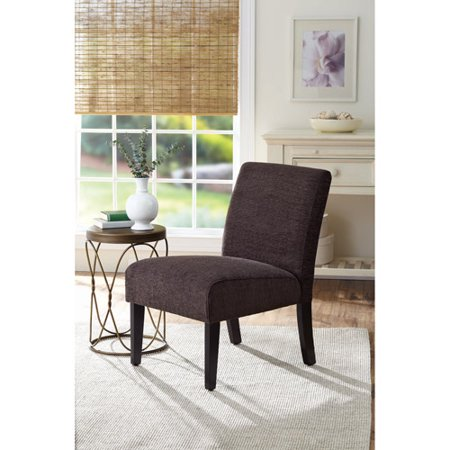 better homes and gardens accent chair solid brown