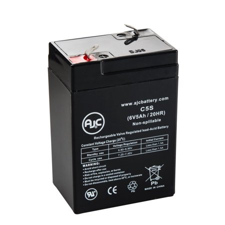 Ross Pca Micro Infusor 4100 6V 5Ah Medical Battery   This Is An Ajc Brand  Replacement