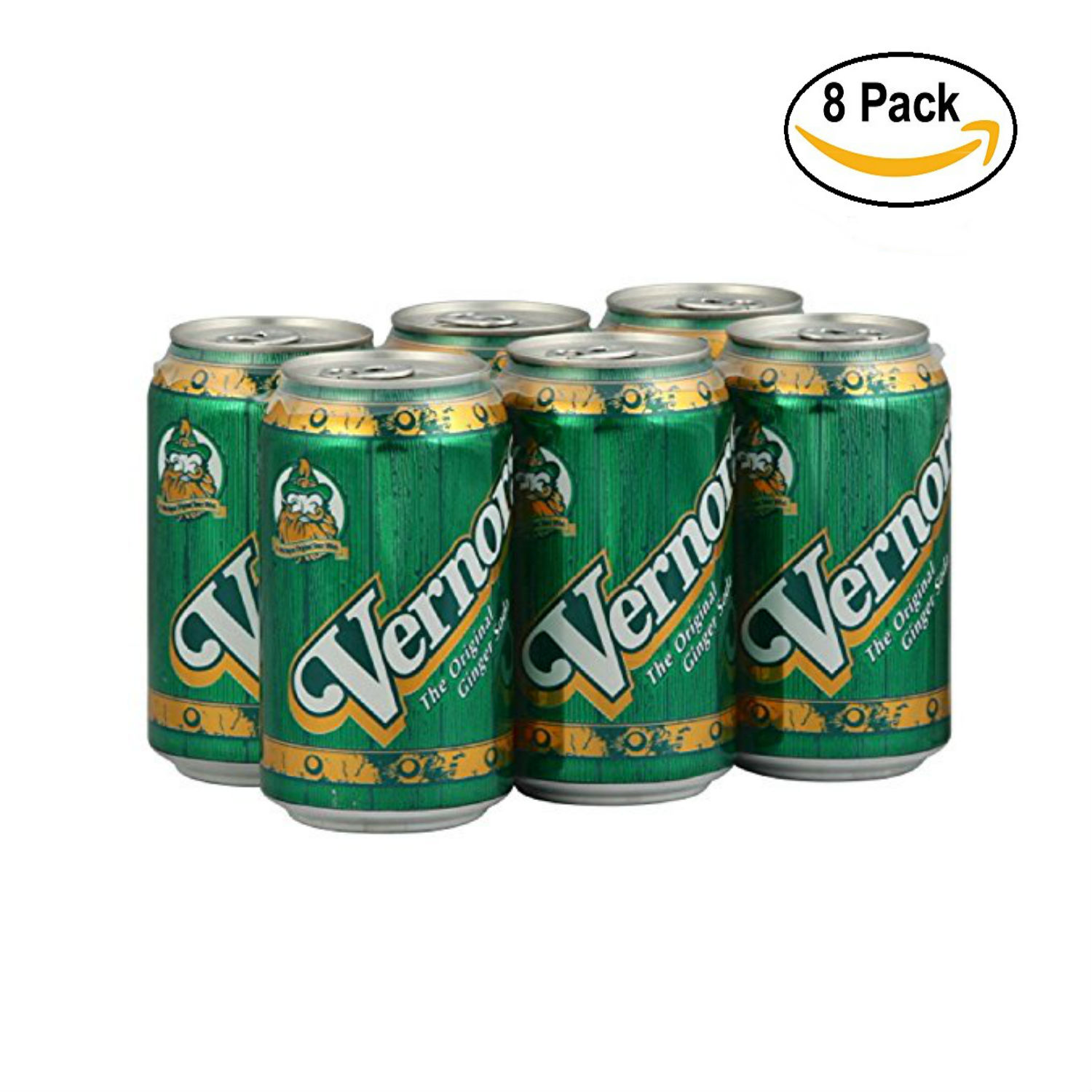 VERNORS, SODA 6PK CAN GNGRALE, 72 FO, ( Pack of 4 x 2 )