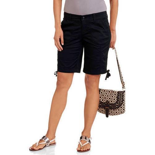 Faded Glory Women's Cargo Bermuda Shorts