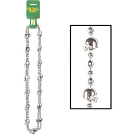 Football Beads (Pack of 12) (Football Beads)