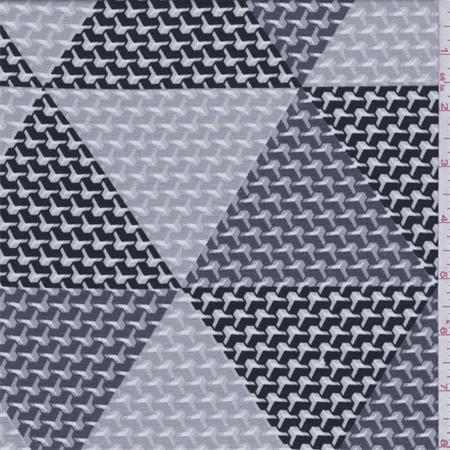 58dffda7b8a Grey/Charcoal Triangle Print Tencel Jersey Knit, Fabric By the Yard -  Walmart.com