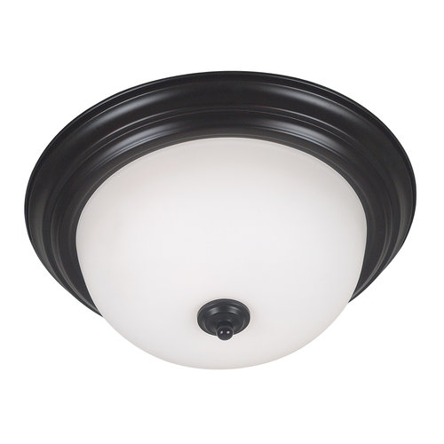 Kenroy Home 80367 Triomphe Two-Light Energy Star Qualified Flush Mount Ceiling F