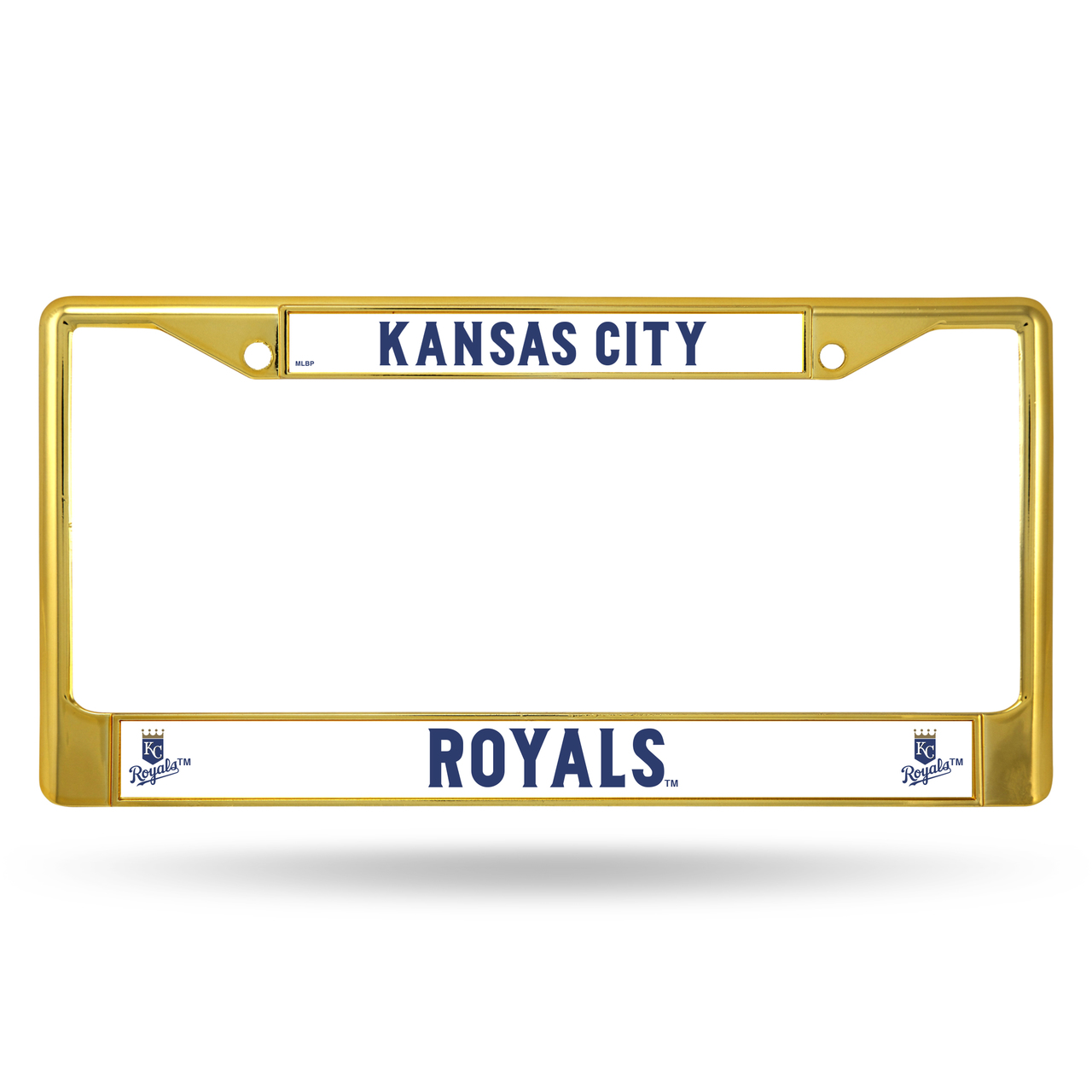 Rico Industries MLB Color License Plate Frame, Kansas City Royals