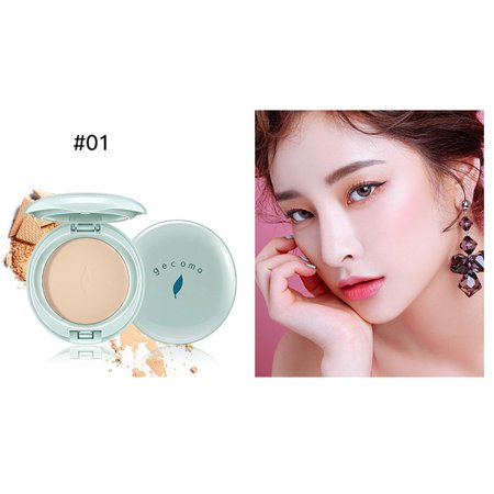 Oil Control Smooth Face Powder Makeup Dry Pressed Powder Bronzers Cosmetic ()