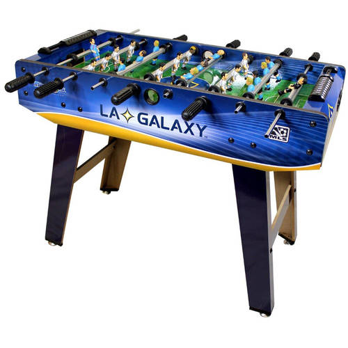 Minigols LA Galaxy Foosball Table with 11 LA Galaxy Figures and 11 Generic Figures