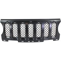 NEW FRONT GRILLE INSERT BLACK FITS 2011-2017 JEEP PATRIOT 68091527AA