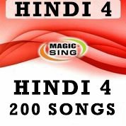 Magic Sing Hindi 4 Song Chip 200 Songs for Et28kh