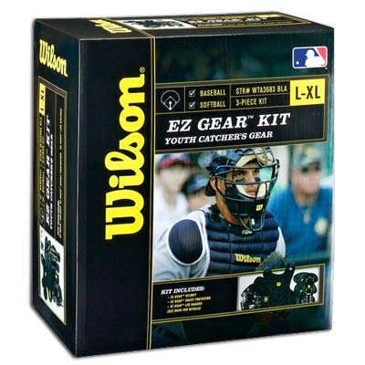 Wilson Small/Medium Size EZ Gear Kit for Ages 5-7