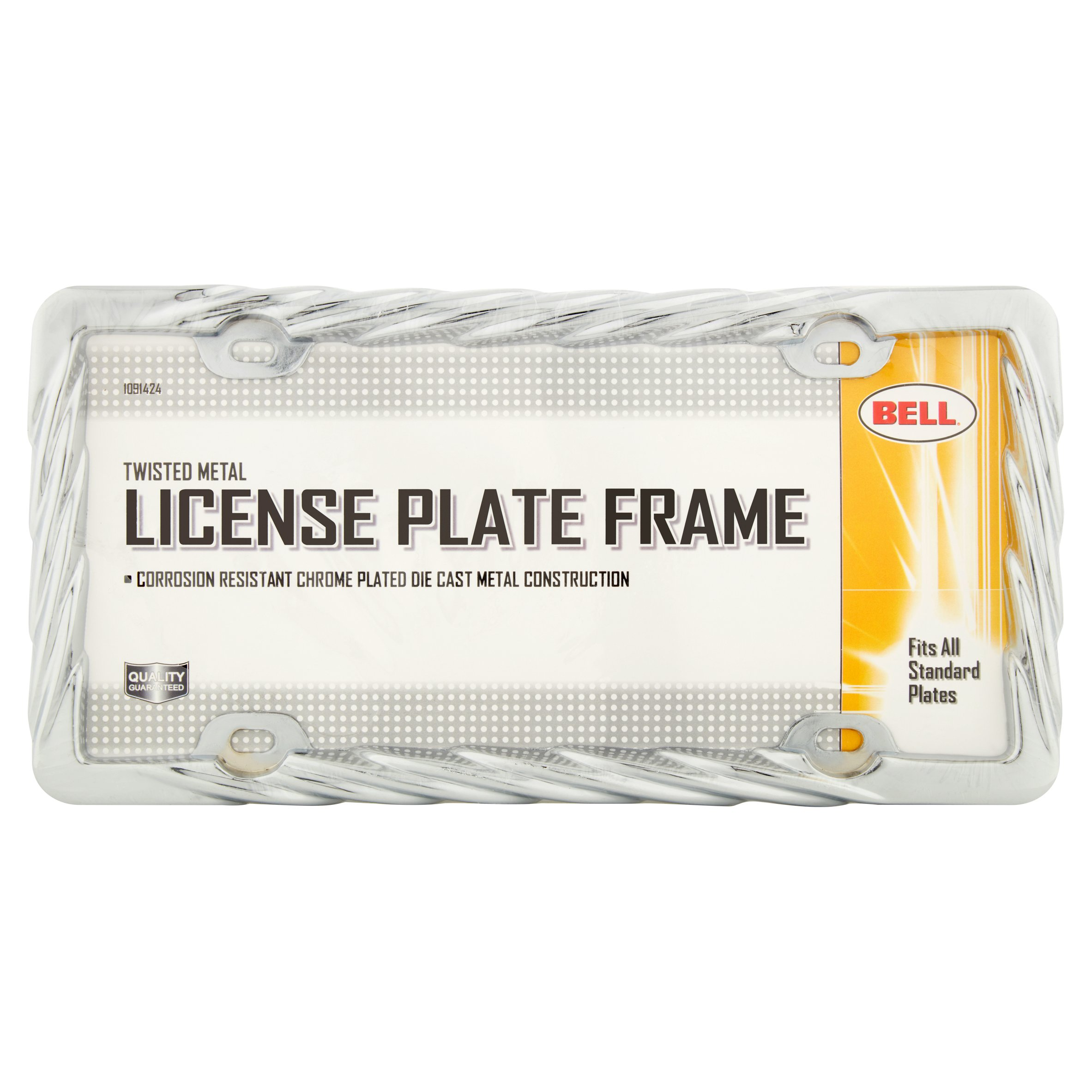 Bell Twisted Metal License Plate Frame