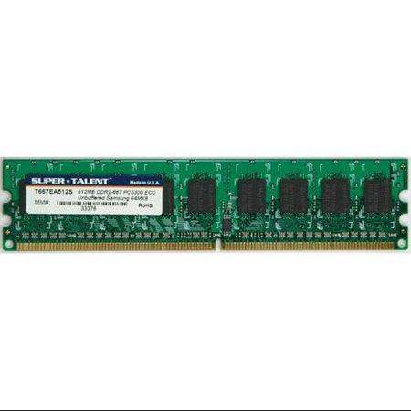 Super Talent DDR2-667 512MB/64x8 ECC Samsung Chip Server Memory