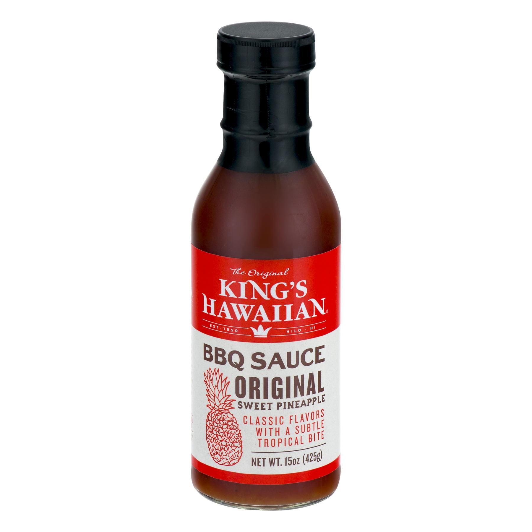 King's Hawaiian Original Sweet Pineapple Barbecue Sauce – BrickSeek