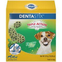 Dog Treats: Pedigree Dentastix Triple Action Bites