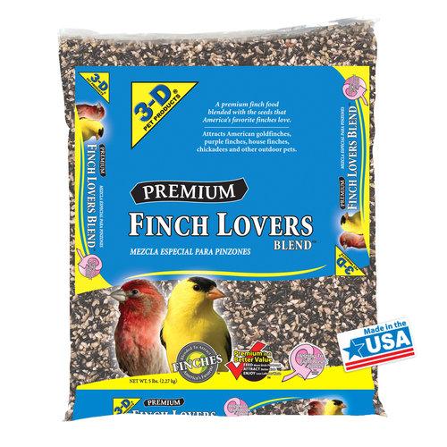 3-D Pet Products Outdoor Premium Finch Food, 5 lb