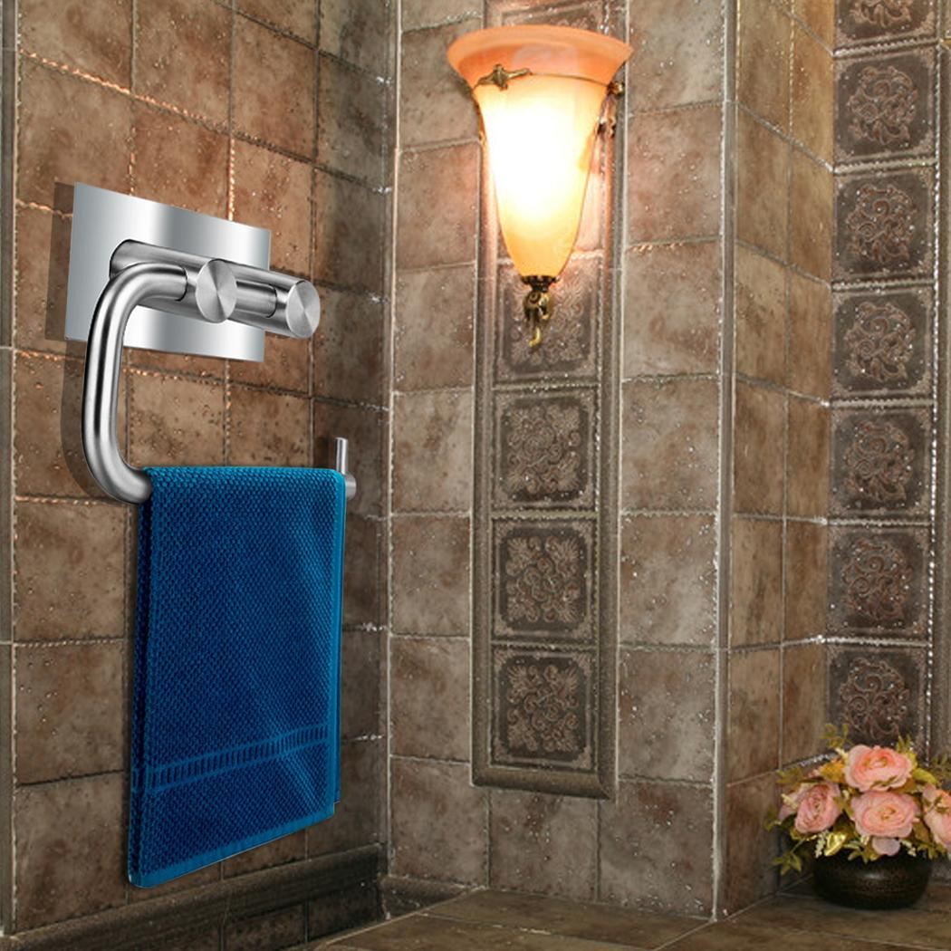 Toilet Paper Holder Set Stainless Steel Adjustable Toilet Rolls Holders HFON by