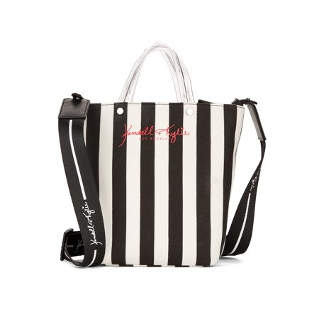 Kendall + Kylie for Walmart Black Lucite Mini Tote