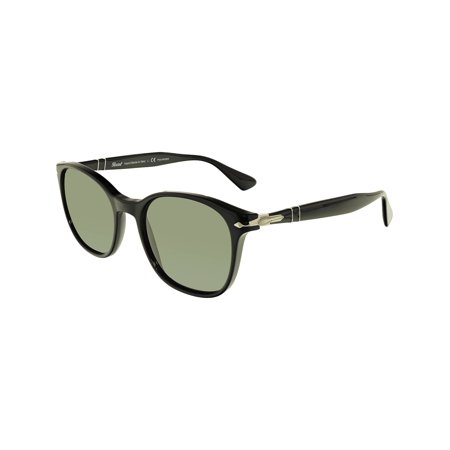 Persol Men's Polarized PO3150S-95/58-54 Black Oval (Persol Polarized)