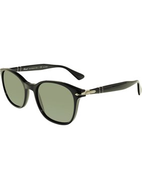 6dcf28581e263 Product Image Persol Men s Polarized PO3150S-95 58-54 Black Oval Sunglasses