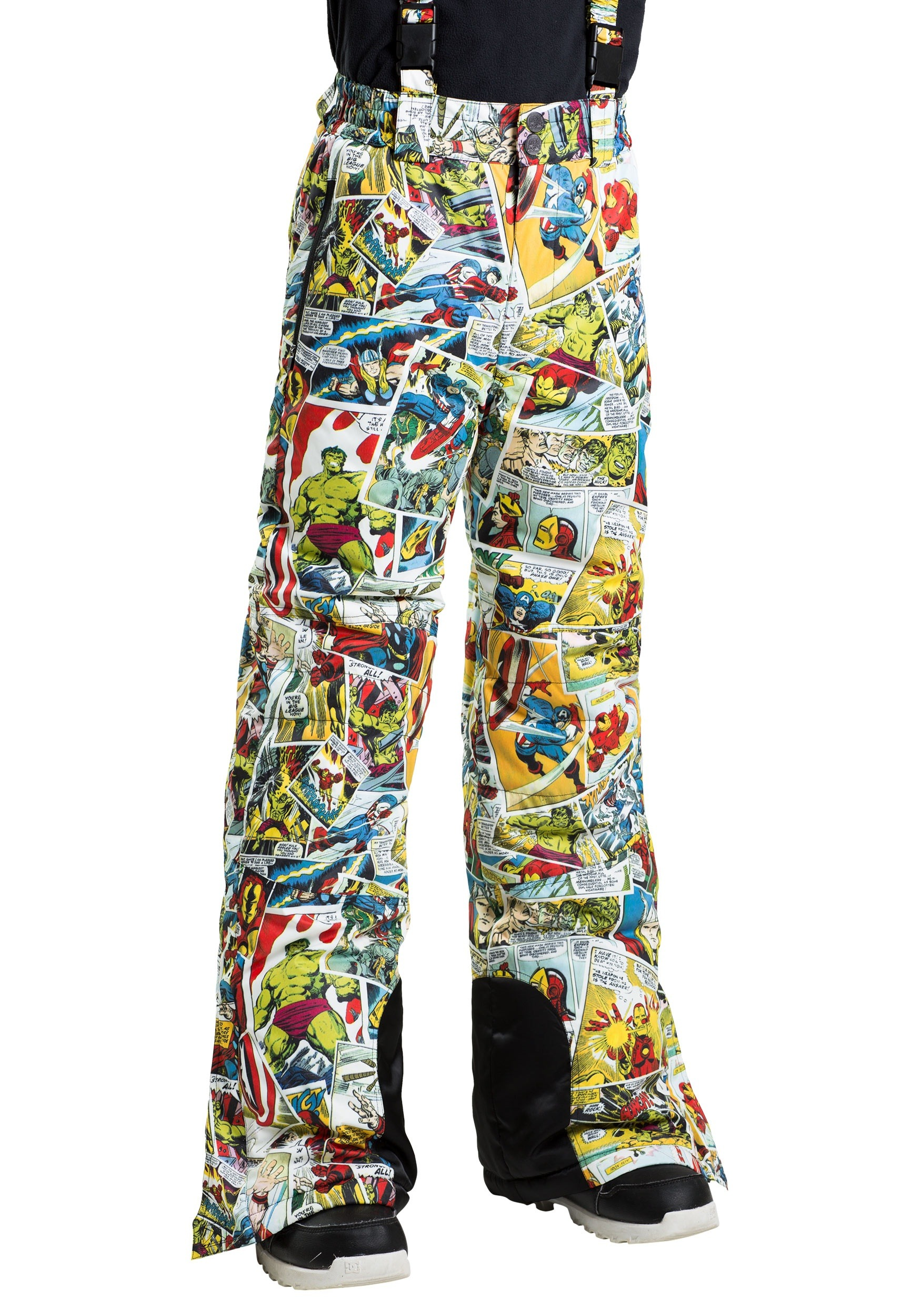 Kids Marvel Comic Print�Snow Pants
