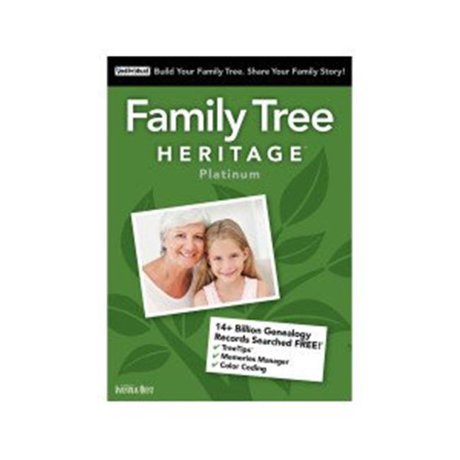 Family Tree Heritage Platinum 15 Mac (Email Delivery)