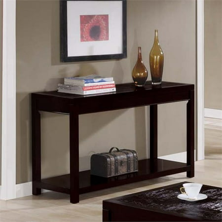 Monarch specialties side table xxii 18 inch wide console for 24 wide console table