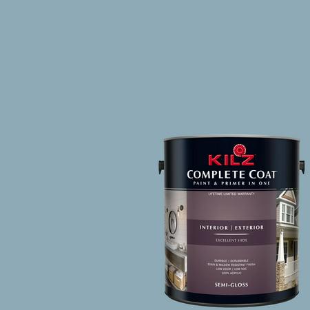 KILZ COMPLETE COAT Interior/Exterior Paint & Primer in One #RD270-01 Abstract Idea](Paint Halloween Ideas)